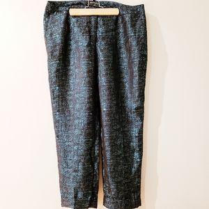 BNWOT Express Editor Metallic Pants